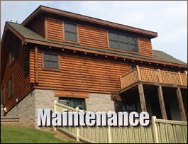 Log Home Maintenance  Licking County, Ohio