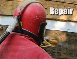 Log Home Repair  Licking County, Ohio